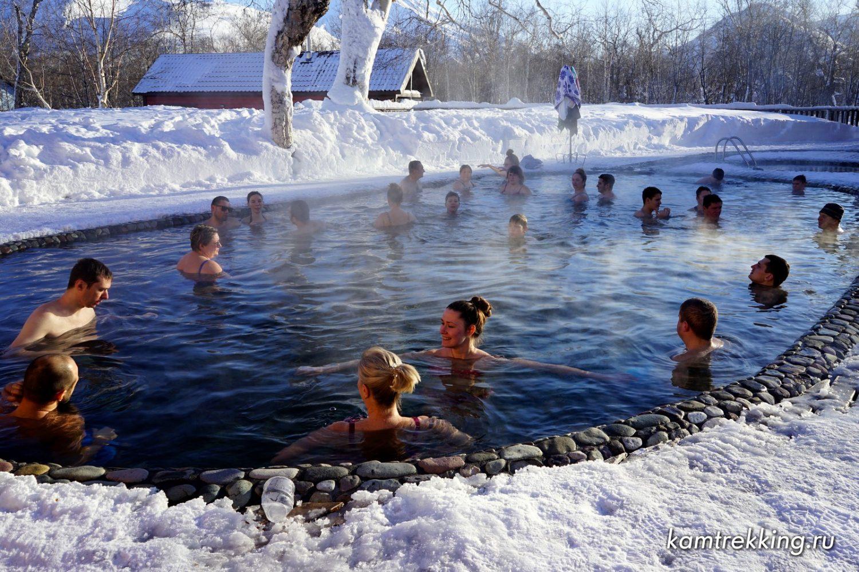 Туры на Камчатку, горячие источники
