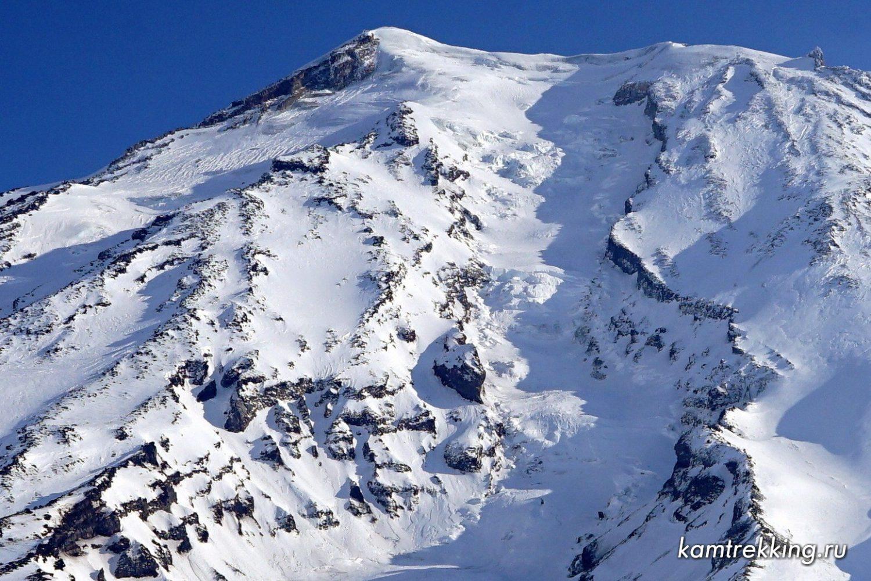 Камчатка, вешина вулкана Корякский