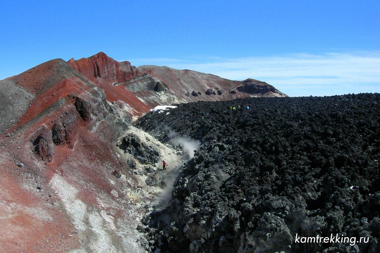 Камчатка туры, Авачинский вулкан, кратер, восхождение