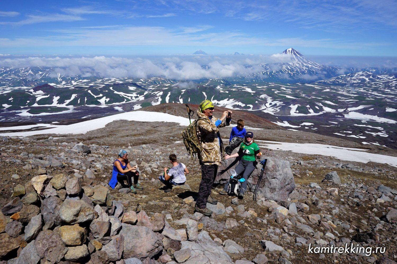 Камчатка туры, восхождение на вулкан