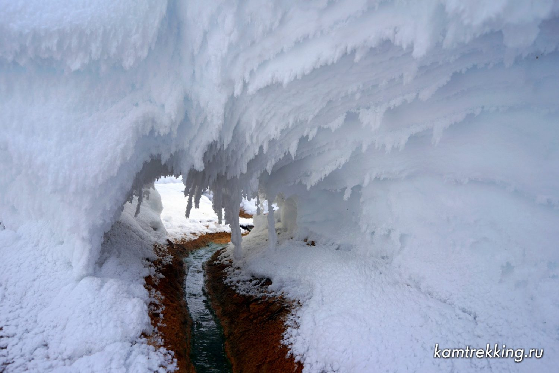 Камчатка туры, зима в Налычево