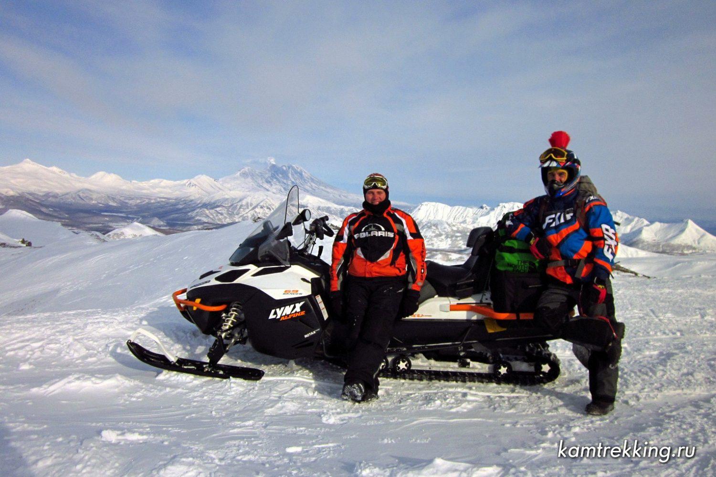 Снегоходные туры по Камчатке