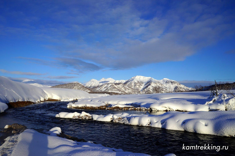 Туры на Камчатку, Горячая река