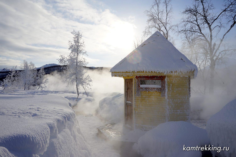 Туры на Камчатку, Желтореченские источники