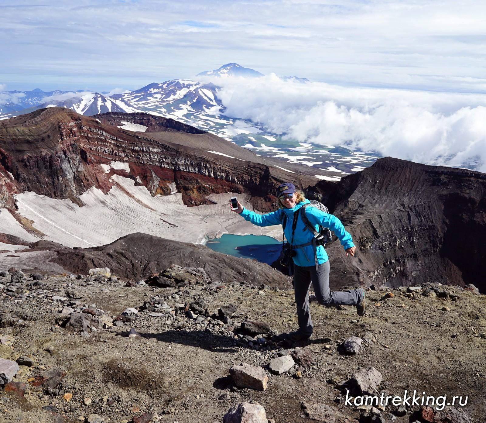 Туры на Камчатку, восхождения на вулканы
