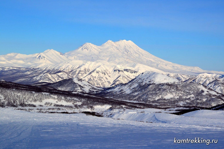 Туры на Камчатку, вулкан Жупановский