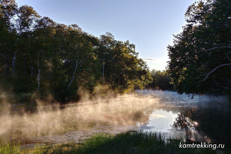 Туры на Камчатку, горячие источники, горячая река