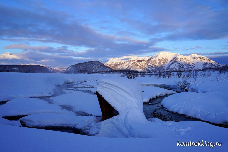 Туры на Камчатку, снегоходные туры по Камчатке