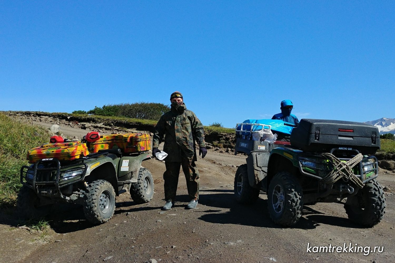 Туры на квадроциклах по Камчатке