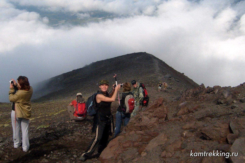 Туры по Камчатке, Авачинский вулкан, восхождение