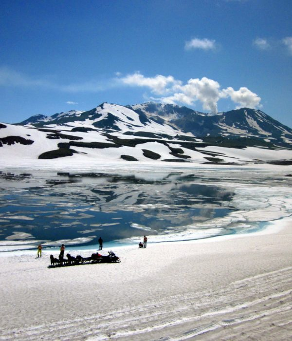 Mutnovsky volcano, Kamchatka